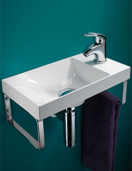 Solo Ocean Wall Hung Washbasin 400 x 220mm - 8780