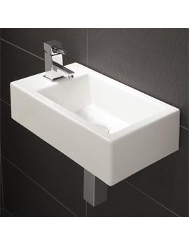 Related HIB Rialto Metro Cloakroom Basin 440 x 250mm - 9770