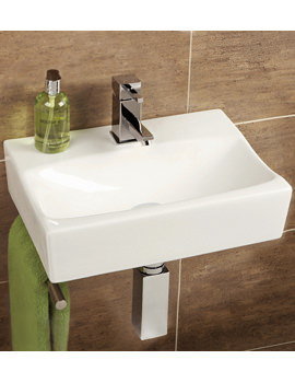 Malo Murcia Cloakroom Basin With Towel Rail - 8921