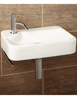 Malo Lugo Cloakroom Basin With Towel Rail - 8932