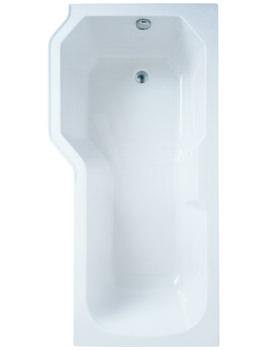 Related Adamsez Retro Left Hand Shower Bath 1700 x 850mm - RTL-WH078