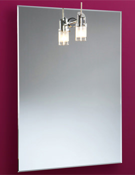 Leila Illuminated Bathroom Mirror With Halogen Light 500 x 700mm