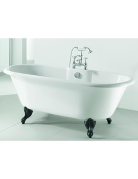 Adamsez Portobello Pure 1765 x 780mm Freestanding Bath With Feet