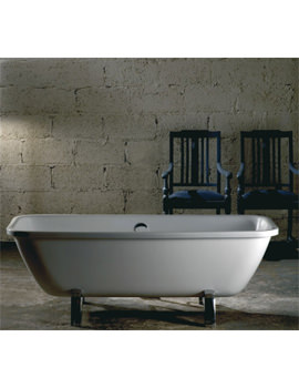 Adamsez Urbana Pure Double Ended 1740 x 790mm Freestanding Bath With Feet