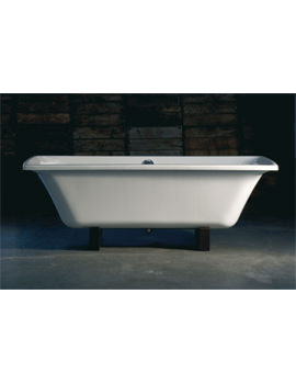 Adamsez Signa Double Ended 1800 x 825mm Freestanding Bath With Feet