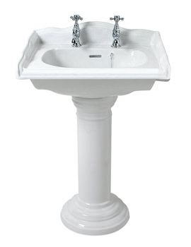 Related Phoenix Balmoral Square Medium Basin 585mm - BA034