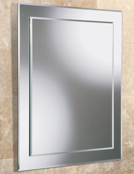 Linus Rectangular Mirror On Mirror 500 x 700mm - 76700000