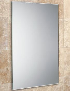 HIB Johnson Rectangular Mirror With Bevelled Edges 400 x 600mm