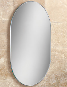HIB Jessica Lozenge Shaped Bevelled Mirror 400 x 600mm - 76100000