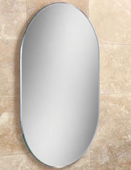 Jessica Lozenge Shaped Bevelled Mirror 400 x 600mm - 76100000