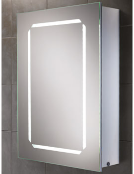 Cosmic Steam Free LED Back-Lit Aluminium Mirrored Cabinet 500 x 700mm
