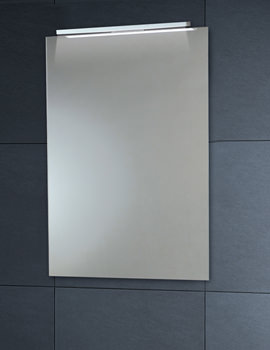 Down Lighter Mirror With Demister Pad 450 x 600mm - MI022