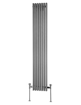 Beo Amara Round Rectangular 320 x 1600mm Vertical Designer Radiator