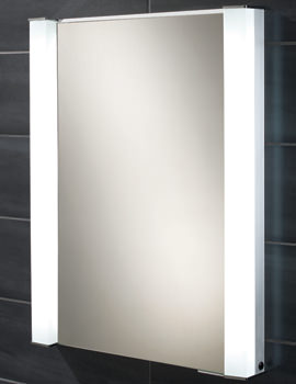 Related HIB Parity Single Door Recessed Aluminium Mirrored Cabinet 600 x 760mm