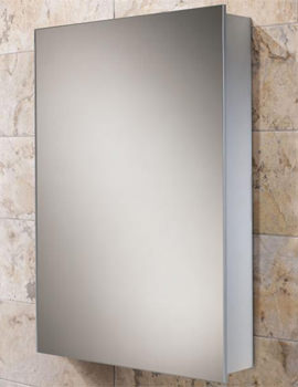 Kore Slim Line Aluminium Mirrored Cabinet 400 x 600mm - 43900