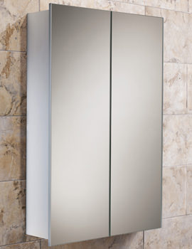 Jupiter Double Door Aluminium Cabinet 450 x 700mm - 43600