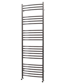 Related Beo Stainless Steel 500 x 1600mm Curved Towel Rail - Curvo 16-50