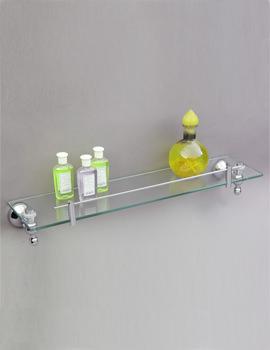 Phoenix Traditional Glass Shelf 500 x 120mm - TAC007
