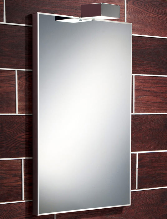 Large Image of HIB Atessa Low-Energy Bevelled Edge Illuminated Mirror 500 x 700mm