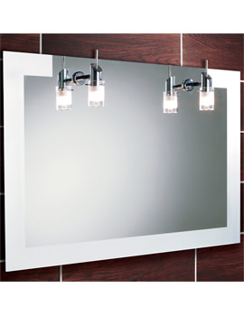 Felix Landscape Illuminated Mirror With Halogen Lights 900 x 600mm