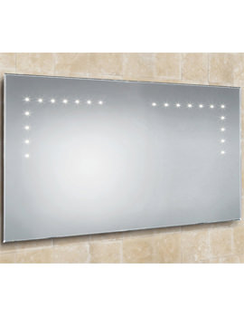 HIB Aaron Landscape Bevelled Edge LED Bathroom Mirror 1000 x 530mm