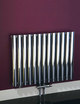 Phoenix Louise Oval Tube Radiator 780 x 600mm - RA120