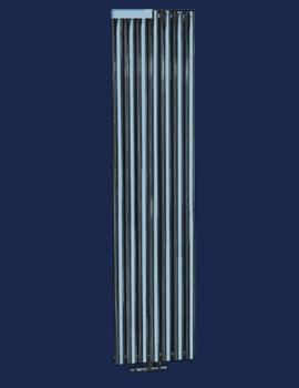 Louise Oval Tube Radiator 1800 x 420mm - RA123