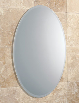 HIB Alfera Oval Shaped Mirror With Bevelled Edge - 61643000