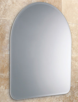 Tara Arched Mirror With Narrow Bevelled Edges - 61883000
