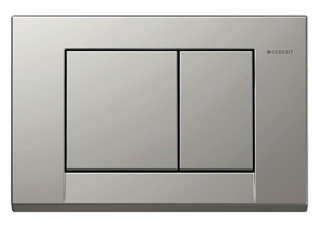 geberit bolero dual flush plate satinox. Black Bedroom Furniture Sets. Home Design Ideas