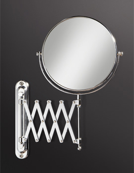 Rossi Extendable Magnifying Bathroom Mirror - 27200