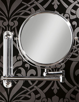 Tila Double Sided Extendable Magnifying Bathroom Mirror -28200