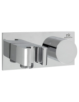 Noken Giro Hand Shower Wall Outlet Holder And 3 Way Diverter
