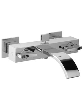 Noken Imagine Wall Mounted Bath Shower Mixer Tap With Diverter