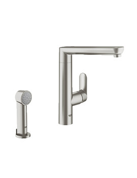 grohe taps full range of grohe taps enjoy water. Black Bedroom Furniture Sets. Home Design Ideas