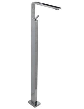 Noken Soft Single Lever Floor Mounted Basin Mixer Tap