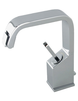 Noken Soft Single Lever Bidet Mixer Tap With Pop-Up Waste