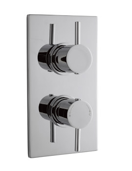 Related Lauren Pioneer Thermostatic Concealed Shower Valve With Round Handles