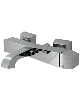 Noken Dune Exposed Wall Mounted Bath Shower Mixer Tap
