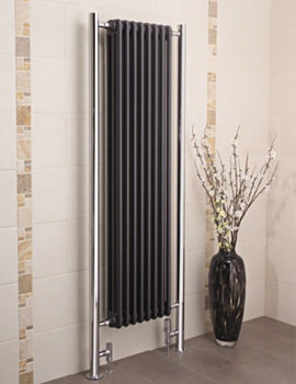 Bologna Vertical Steel Column Radiator 660 x 1730mm - BOV17H660
