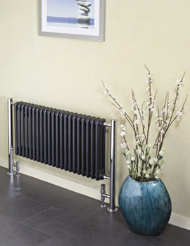 Bologna Horizontal Steel Column Radiator 660 x 730mm - BOH7H660
