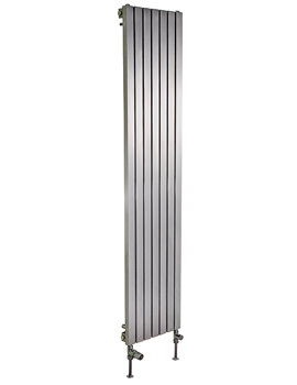 Ferrara Stainless Steel Vertical Radiator 500 x 1400mm