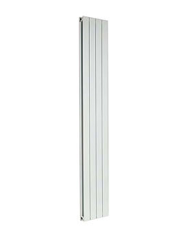 Capri Vertical Double Panelled Radiator White 600 x 1800mm
