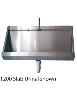 Stainless Steel 1200mm Wall Hung Urinal - PS8201SS