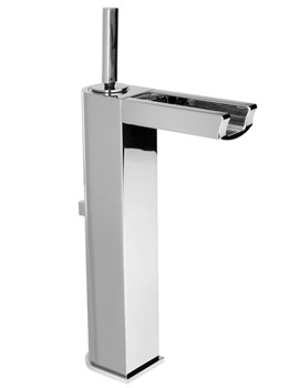 Noken Nora High Spout Single Lever Basin Mixer Tap And Waste
