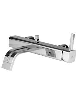 Noken Neox Wall Mounted Bath Shower Mixer Tap With Diverter