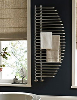 Vogue Marine Designer Towel Rail 600 x 1400mm Chrome