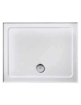Idealite Low Profile 1000 x 800mm Rectangular Upstand Tray