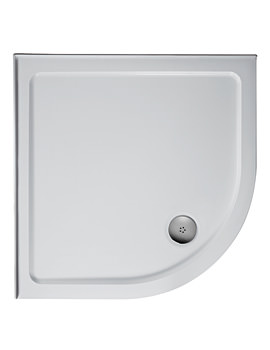 Simplicity 800mm Quadrant Low Profile Upstand Shower Tray