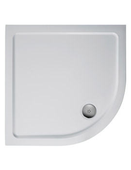 Idealite Low Profile 800mm Quadrant Flat Top Shower Tray